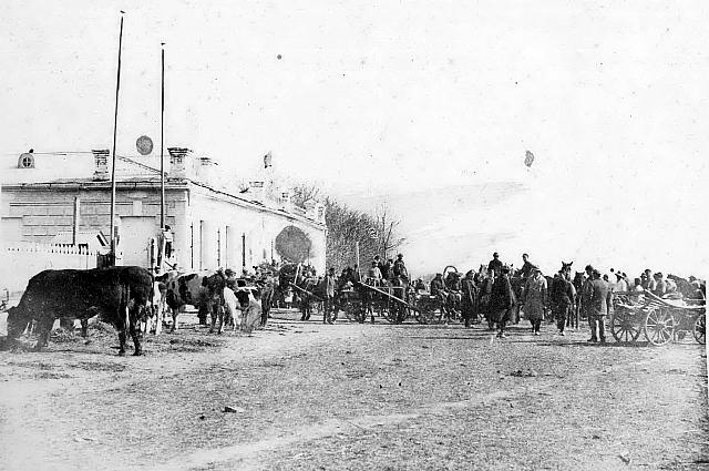 переселенцы на станции Барабаш